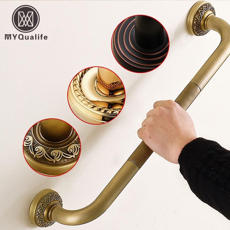 Bathroom Helping Handle Bars Wall Mounted Brass Grab Bars Cuba and Safety Grip Handle bars шорты