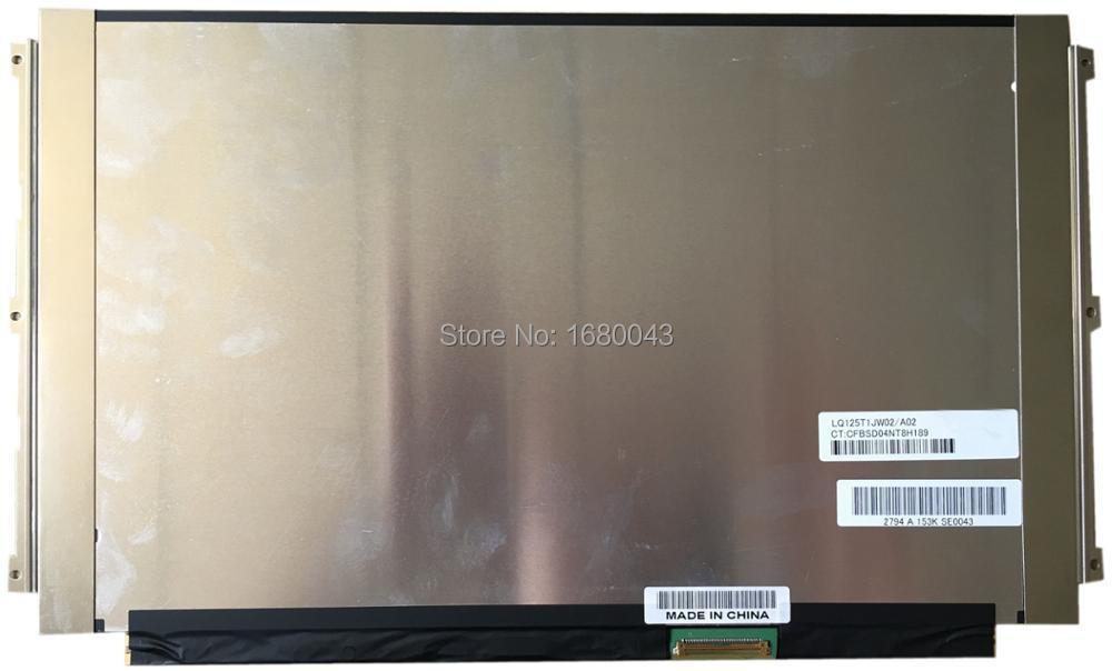 LQ125T1JW02 A02 LQ125T1JW02/A02 LCD LED Display SCREEN Panel IPS LED 2560x1440 Full HD ltn160at01 ltn160at01 a02 hd ccfl backlight laptop lcd screen led display panel ltn160at01 a02 matrix