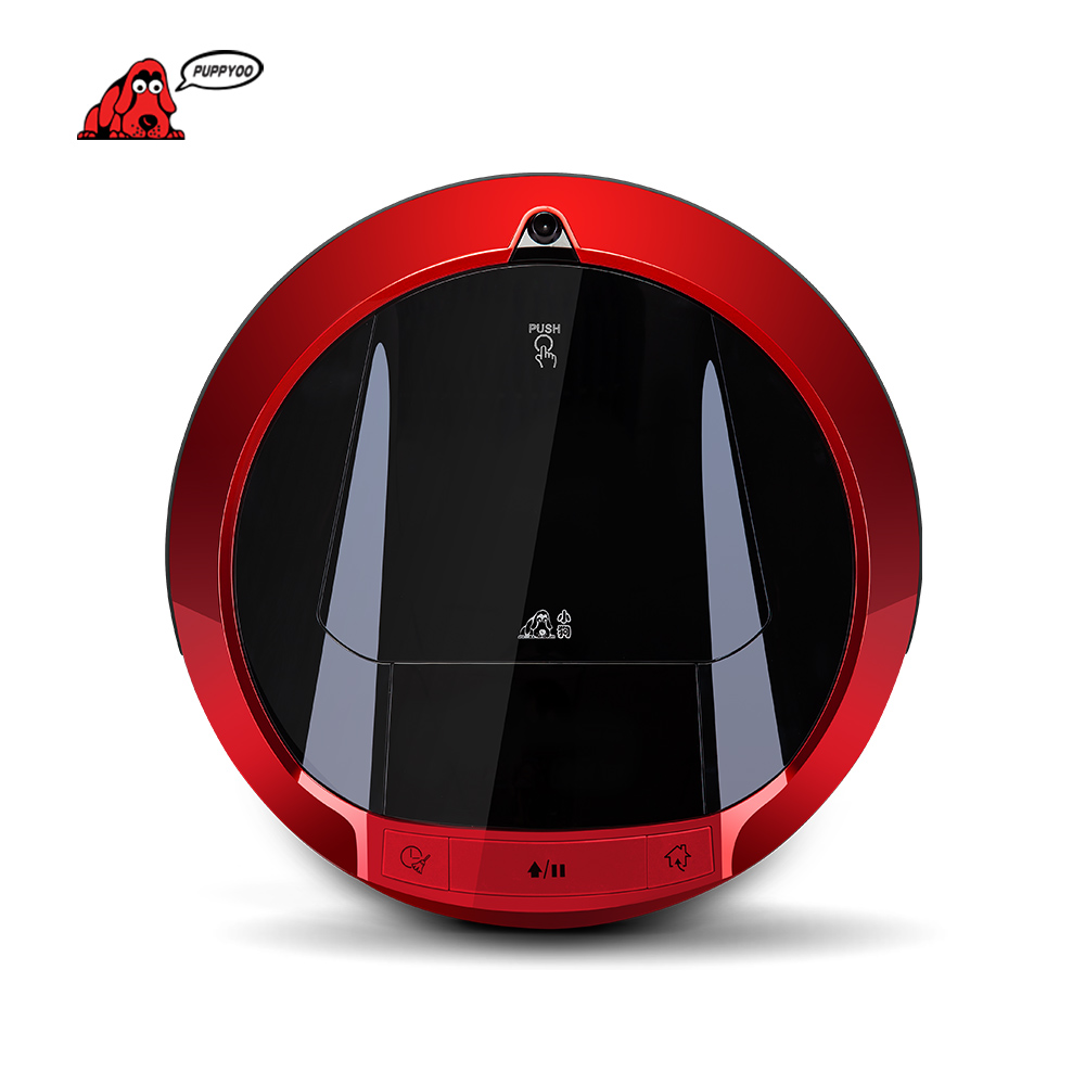 FILHOTE Multifuncional Robotic Vacuum Cleaner Auto-Carga Varredura Casa Coletor de Sucção Lado Escovas V-M900R LEVOU Tela Sensível Ao Toque