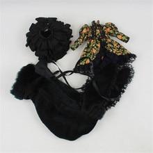 Ubrania lalki Blyth, ciemny styl elementarny, garnitur zawiera kurtkę, spódnicę, czapkę, dla 1/6 30cm lalki, normalne ciało