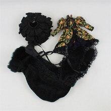 Vestiti per le bambole, elemental Scuro stile, vestito include giacca, gonna, cappello, per 1/6 30 cm bambola, corpo normale