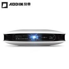 AODIN M18 LED Mini Proyector 4 K 3D DLP proyector de Bolsillo Androide HDMI 1G + 16G de cine en casa proyector HD 1080 P proyector portátil