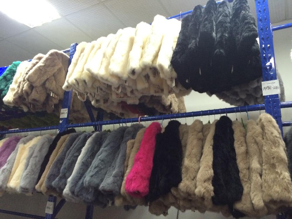 HTB1yonEfC I8KJjy0Foq6yFnVXa1 ETHEL ANDERSON 100% Real Rabbit Fur Women's Real Rabbit Fur Coat/Jacket Outwear Beauty Purple Color XXXL Size Coat