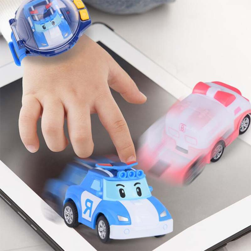 Bracelet Watch Electric-Puzzle Kids Birthday-Gift Parent-Child Girls New Hot Car Racing-Toy