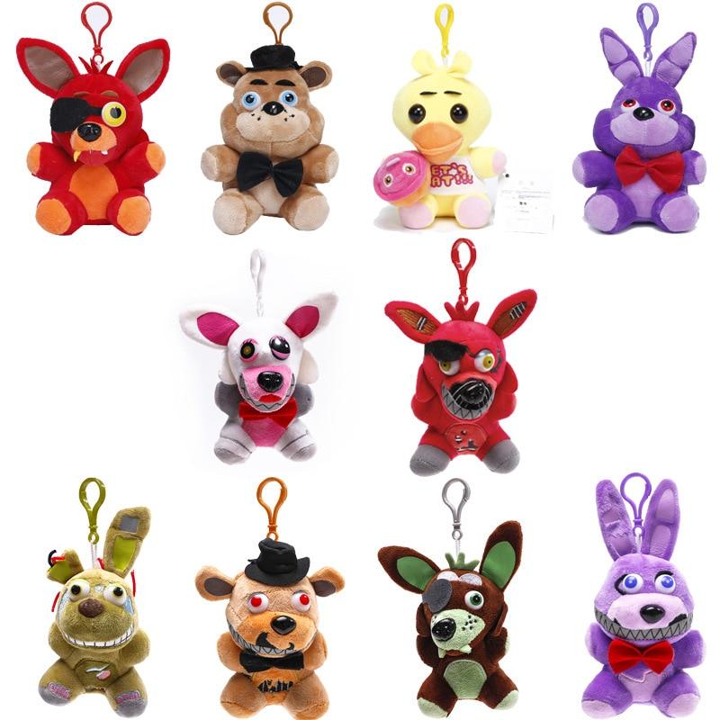 15-18cm-Five-Nights-At-Freddy-s-Plush-Toys-FNAF-Freddy-Bear-Nightmare-Springtrap-Mangle-Foxy