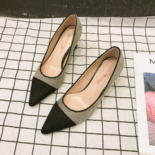spring new high heel shallow tip single shoes  heels women fashion shoes women shoes female luxury women shoes mary jane