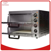 KAEP2ST Hot Sale Electric Pizza Oven With Timer For Commercial Use For Making Bread Cake Pizza
