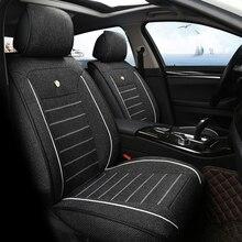 Льняное автомобильное сиденье для nissan x-trail almera suzuki vitara opel аксессуары для интерьера чехлы для сидений автомобиля для укладки