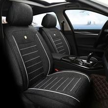 Льняное автомобильное сиденье автомобиля сиденья подходит для nissan x-trail almera suzuki vitara opel внутренние аксессуары, сиденье Чехлы для автомобиля Стайлинг