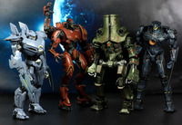 NECA New Arrival 18CM movie Pacific Rim Jaeger Gipsy Danger Battle Damage Gipsy Danger PVC Action Figures Collectible Model Toy