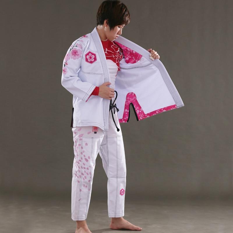 Sunrise New Release Ultra Light BJJ Gi Women's Jiu Jitsu Gi With Bamboo Fabric  Girls BJJ Kimonos Custom Bl