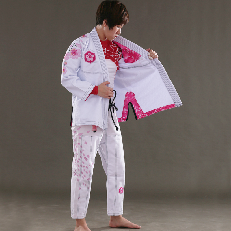 Sunrise New Release Ultra Light BJJ Gi Women's Jiu Jitsu Gi with Bamboo Fabric Girls BJJ Kimonos Custom Bl image