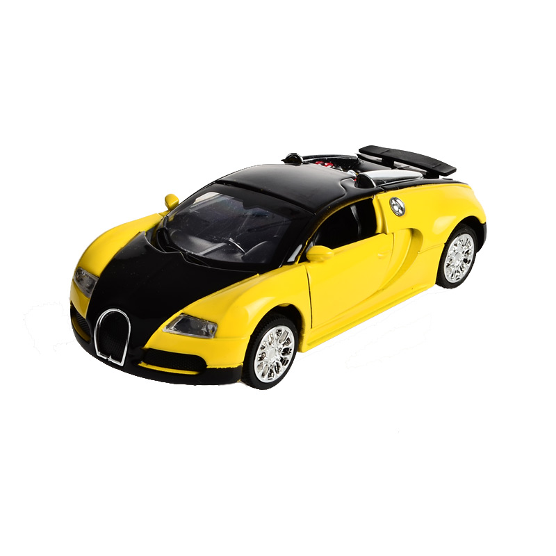 Electronic Alloy Pullback Bugatti Veyron Promo Models Luxurious Car Diecast  Toy, Retail Box Birthday Gift To Children For Boy In Diecasts U0026 Toy Vehicles  ...