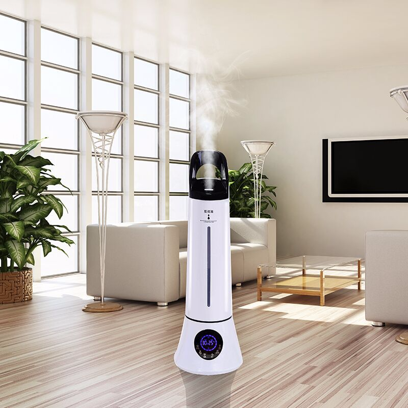 Multifunction Remote Control Floor-standing Humidifier Household Silent Bedroom High Capacity Office Pregnant Women Baby Indoor 6l floor standing humidifier silent bedroom pregnant women baby purification high capacity aromatherapy timing night light