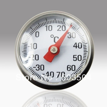 Stainless Steel House hold l thermometer, -40 to 70C, SS 304 case, best price ,good quality
