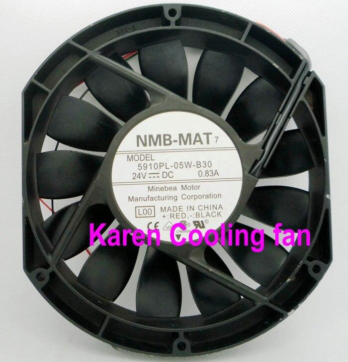 NMB 15CM 5910PL-05W-B30 15025 24v 0.85a  Cooling Fan nmb 3610kl 05w b49 9225 24v 3 wire cooling fan blower