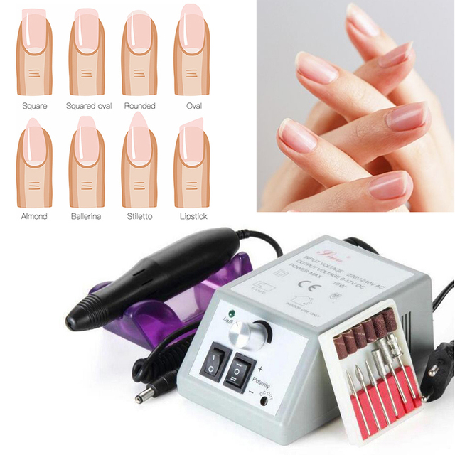 Electric Manicure Drill Nail Art Professional Manicure For Gel ...