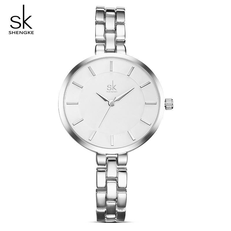 Shengke Women Wrist Watch Bracelet Watches Ladies Clock Relogio Feminino 2019 Top Brand Luxury Women Quartz Watch #K0009