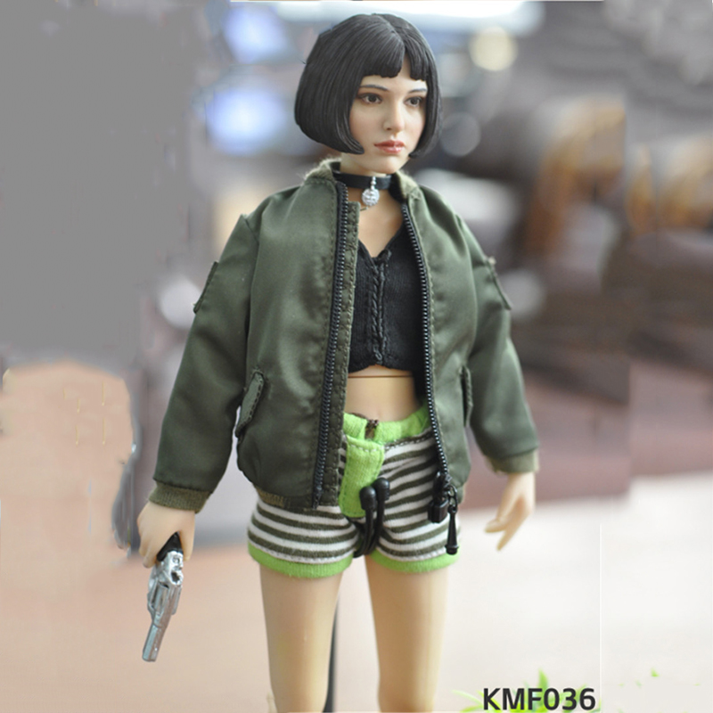1/6 Scale Female Figure Natalie Portman Leon Mathilda Girl Killer Flexible Action Figure Collectible Model Toy for Children Gift 1 6 scale resident evil 6 leon scott kennedy full set action figure for collections