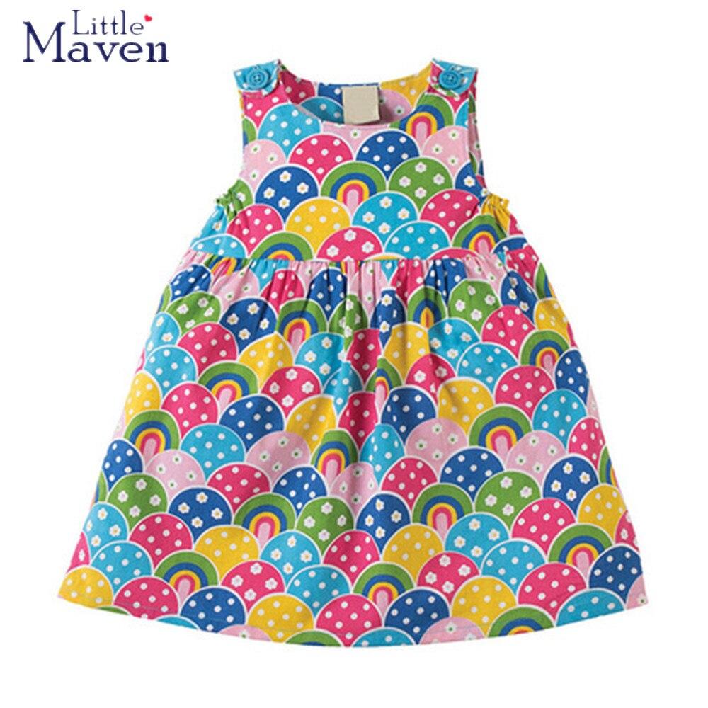 ec29f95e3 Little maven children brand 2018 Summer New baby girls 100% cotton ...