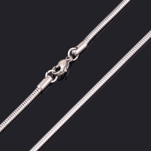 Fashion Women and Men Snake Necklace Chain 316L Stainless Steel Necklace