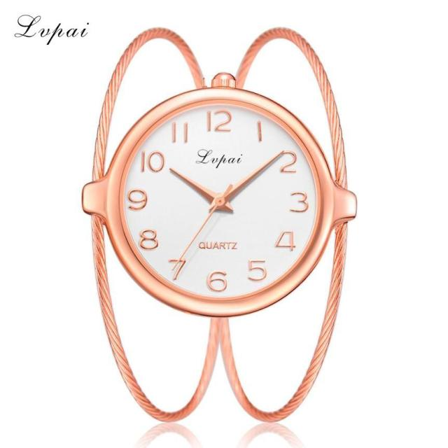 Lvpai bayan kol saati Luxury Brand Women Watches Fashion Casual Quartz Bracelet