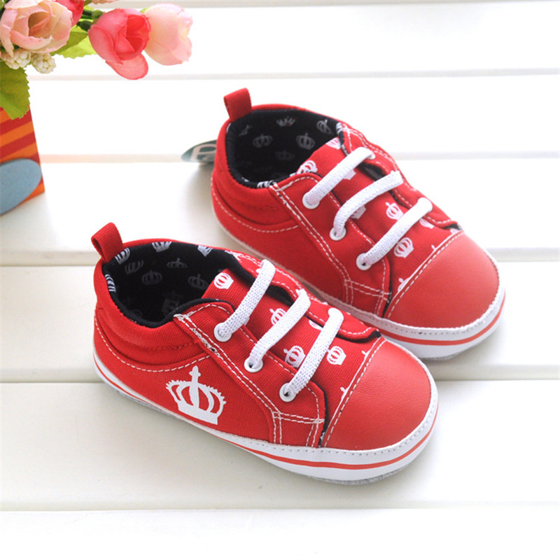 baby girl sneakers baby boy casual shoes soft bottom lace-up cozy red baby leather moccasins sapatilha infantil chaussure fille