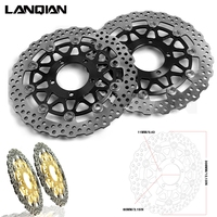 New Motorcycle Round Rear Brake Disc Rotor For KAWASAKI ZX 14R ZZR1400 GTR1400 2006 2007 2008 2009 2010 2011 2012 2013 2014