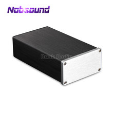 Aluminum Enclosure Amplifer Case Verstarker  Mini Chassis W92*H47*D158 mm