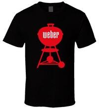 Барбекю 1 Черная футболка