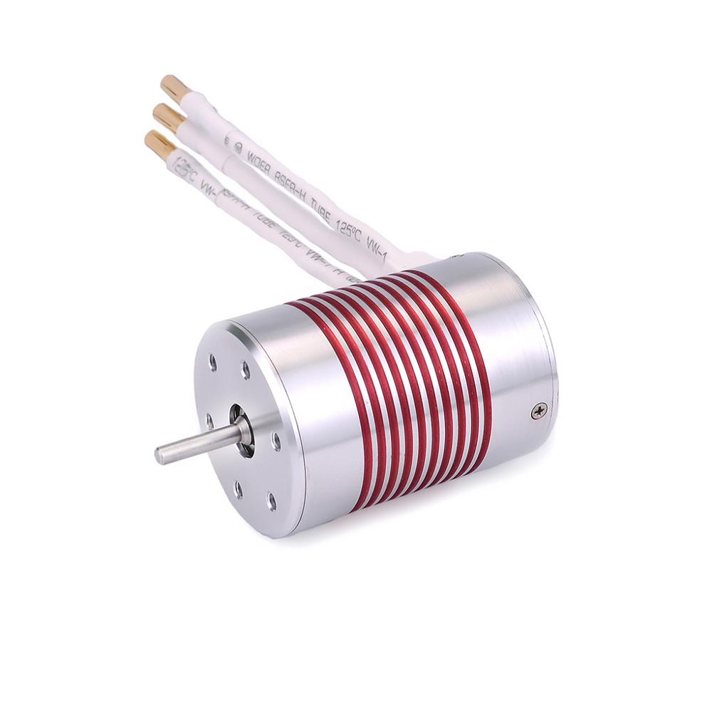 Image 4 - SURPASSHOBBY Platinum Waterproof Series 3650 3100KV 3500KV 2300KV Brushless Motor 45A ESC Programming Card for 1/10 RC Car Boat-in Parts & Accessories from Toys & Hobbies