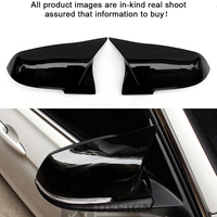 Replacement F30 Mirror Cover gloss black / ABS For BMW F20 F22 F23 M3 F30 F31 F34 F32 F33 F36 X1 E84 Side Door Mirror Wing