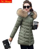 parka women winter coat and jacket miegoface skinnwille dames jassen icebear lady warm coat fur collar grey pink red black green