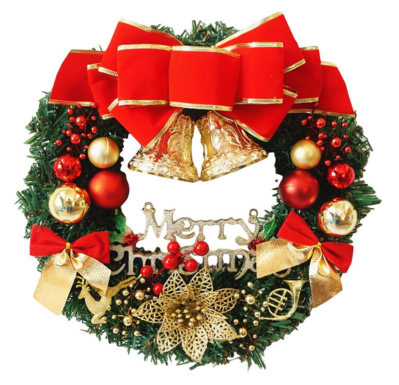 Special Christmas Ornaments.Us 14 37 39 Off Funpa Christmas Ttree Wreath 11 8 Inch Special Christmas Ornaments Door Decoration Wreaths In Pendant Drop Ornaments From Home