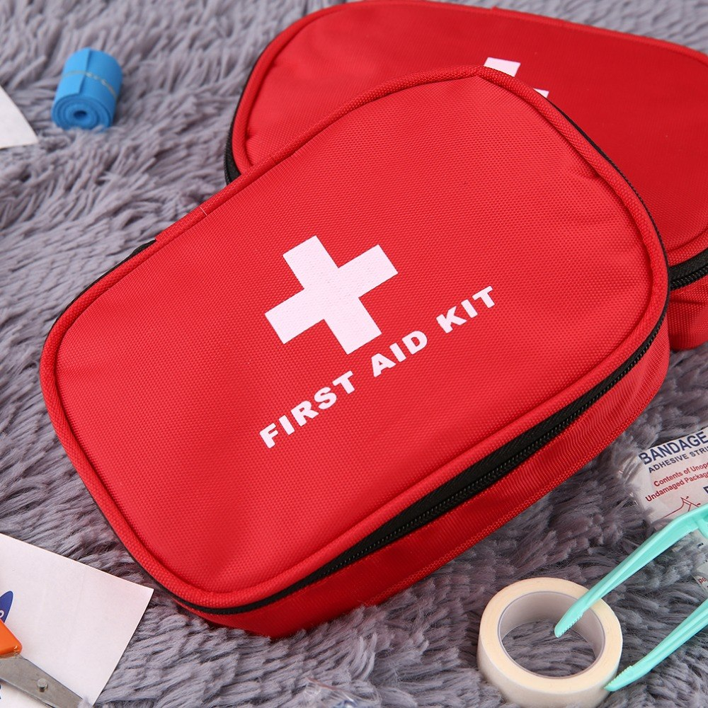 12PCS /Set Emergency Survival First Aid Kit Travel Medical Outdoor Emergency Kit Bag Travel Camping Survival Medical Kits