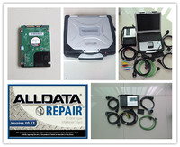 2019 super mb star c5 and alldata 10.53 software in hdd 1tb with laptop cf30 star diagnose for 12v 24v ready to work