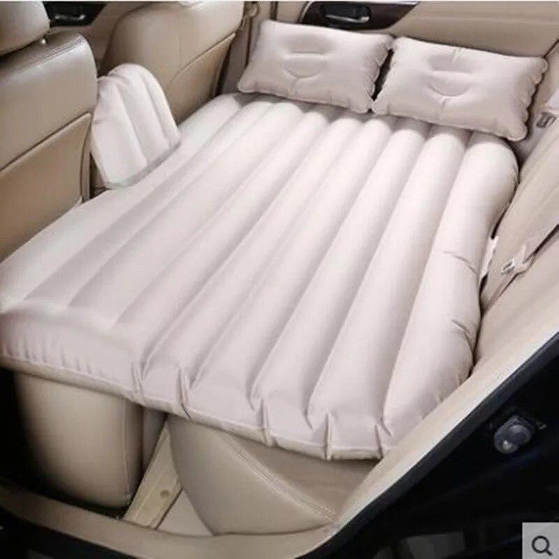 2019 qualité supérieure de voiture SUV tissu oxford voiture arrière siège voyage auto-conduite de voiture lit gonflable avec pompe
