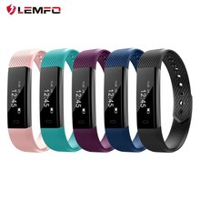 ID115 Smart Bracelet Fitness Tracker Wristband Pedometer Compatible Smartband Waterproof Sleep Monitor Wrist Watch