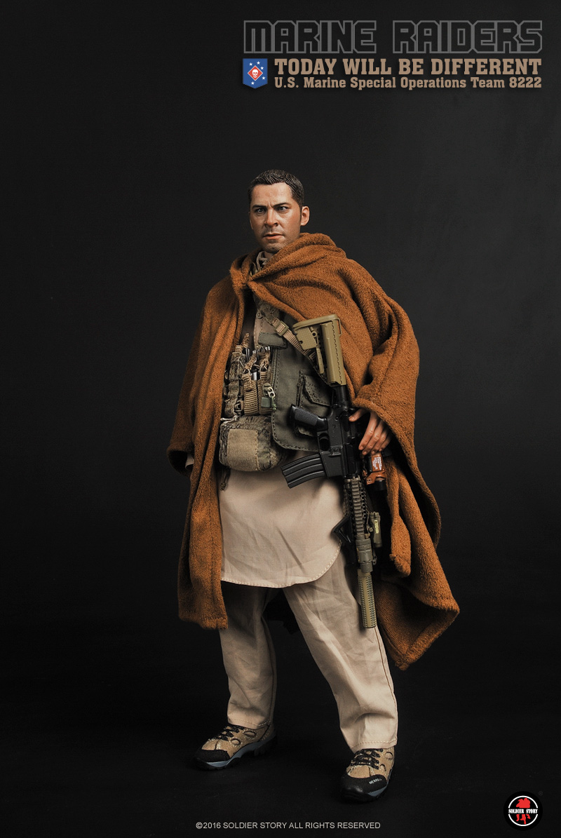 1/6 scale  Collectible Military figure Marine Raiders Today Will Be Different MSOT 8222 12 action figure doll model toy