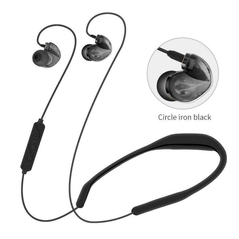 HIFI bas słuchawki sportowe słuchawki z redukcją szumów douszne wodoodporna Aptx Bluetooth 5.0 Wireless odpinany słuchawki LX8