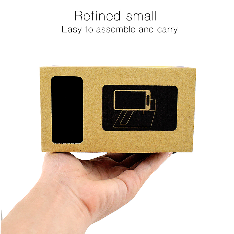 Virtual Reality Glasses Google Cardboard Glasses 3D Glasses VR Box Movies for iPhone 5 6 7 SmartPhones VR Headset 8