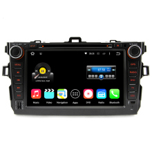 8 Inch 2 Din HD 1024×600 Quad Core Android 5.1.1 Car DVD GPS For Toyota Corolla 2006-2011 With Stereo Radio 3G WiFi OBD DVR