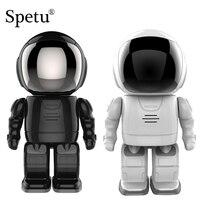 Spetu HD 1080P Robot Camera IP Wifi Wireless P2P Security Surveillance Cameras Night Vision IR Home Security Robot Baby Monitor