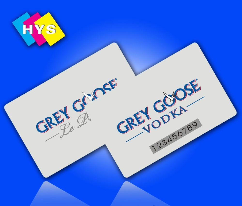 Tarjeta de compra de alta calidad y Impresión de tarjetas de visita