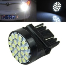 цена на B86 High Quality T25 1206 3057 3156 22 SMD LED Car Tail Brake Light Stop Turn Light Lamp White