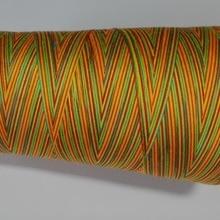 Радужный цвет пестрые швейных ниток полиэстровые нитки для шитья в трех разных размеров