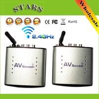 Hot 2 4G Wireless AV Transmitter Receiver Audio Video Sender TV Signal Receiver IR Remote Extender
