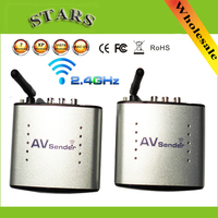 2.4G Wireless AV Transmitter & Receiver Audio Video sender TV Signal Receiver Extender 3 RCA PAT330 PAT 330,Free Shipping