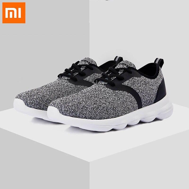 Xiaomi ulehelm sport baskets léger confortable rebond semelle respirant tricot loisirs chaussures de course pour hommes femmes