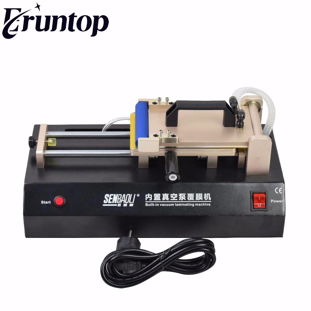 Built-in Vacuum pump Universal OCA Film Laminating Machine Multi-purpose Polarizer for LCD Film OCA Laminator tbk 15 inch oca vacuum laminating machine lcd separator glue remover frame laminator manual oca polarizer film laminating